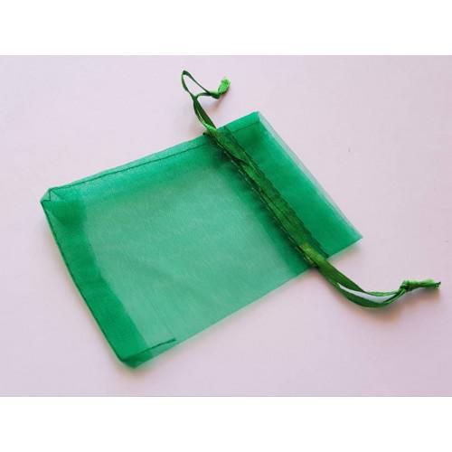 Мешочки из органзы 7х9см зеленый
