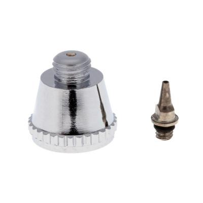 Сопло резьбовое для аэрографа 0,3 мм с прокладкой в комплекте с диффузором