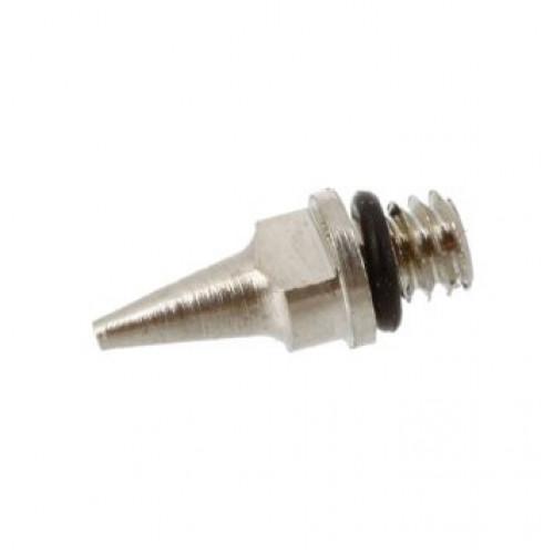 Сопло резьбовое для аэрографа 0,2/0,3/0,5 мм с прокладкой в комплекте с диффузором, Navite
