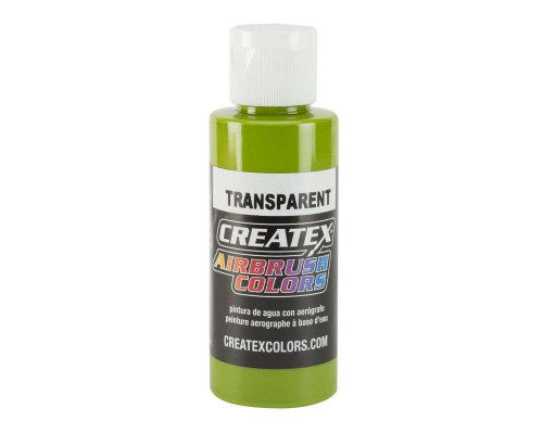 AB Transparent Leaf Green 5115 (краска прозрачная Зеленый травяной), 60 мл