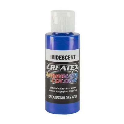AB Iridescent Electric Blue 5505-02 (радужная голубая электрик краска), 60 мл