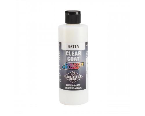 Createx Clear Coat Satin (сатиновое, атласное покрытие), 60 мл