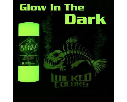 Wicked Transparent Glow in the Dark (прозрачная, светящаяся в темноте), 60 мл