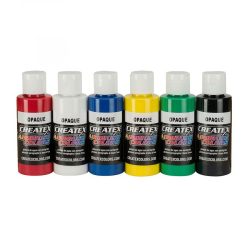 Createx AB Opaque Set (набор непрозрачных красок), 60 мл