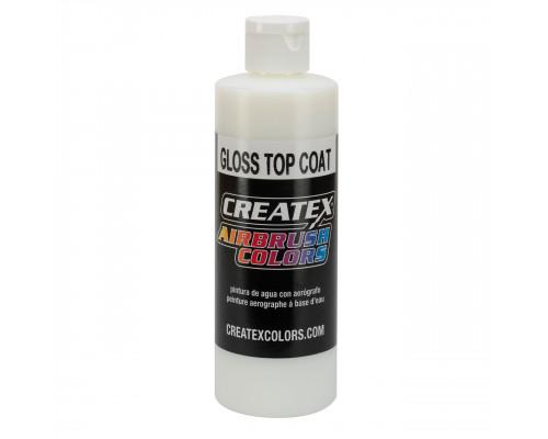 Createx Airbrush Matte Top Coat 5604 (глянцевый защитный лак), 60 мл