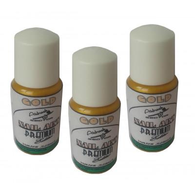 Краска для ногтей PREMIUM 5701/15 Nail-Art Gold
