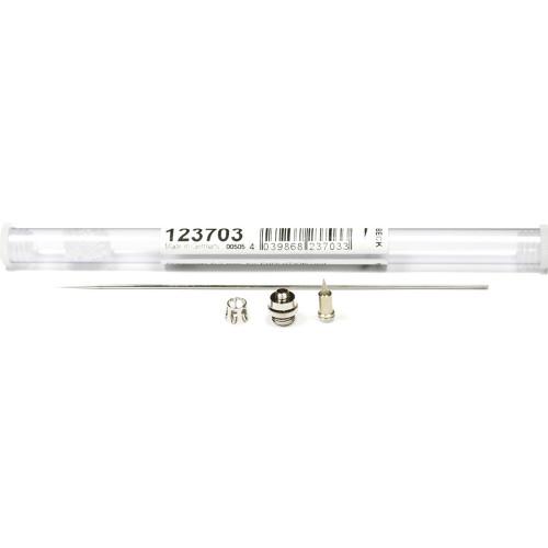 Набор сопло+игла Harder&Steenbeck Nozzle set 0.2mm