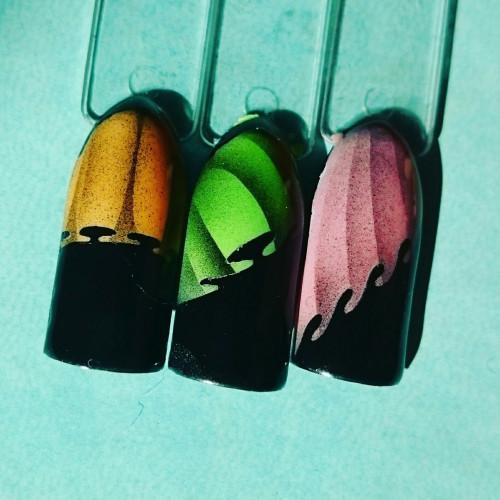 Трафареты-наклейки для nail-art №5 Вуаль