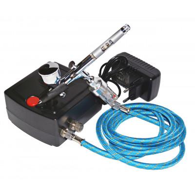 Профессиональный аэрограф для моделистов TC-100 Auto/BD-180 (0,2мм)