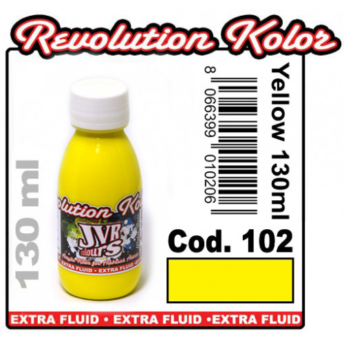 JVR Revolution Kolor, opaque light yellow #102, 130ml