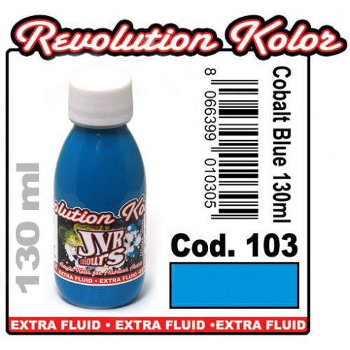 JVR Revolution Kolor, opaque cobalt blue #103,130ml