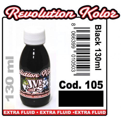 JVR Revolution Kolor, opaque black #105,130ml