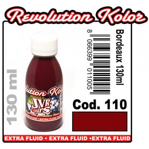 JVR Revolution Kolor, opaque claret red #110,130ml