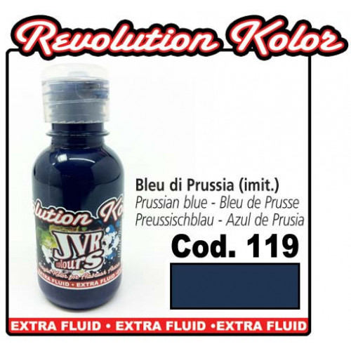 JVR Revolution Kolor, opaque prussian blue #119, 130ml