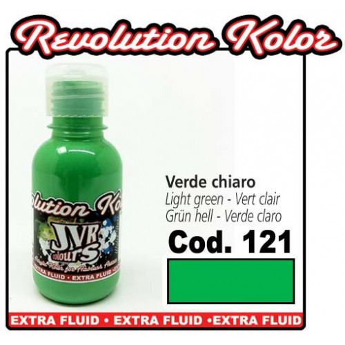 JVR Revolution Kolor, opaque light green #121, 30ml