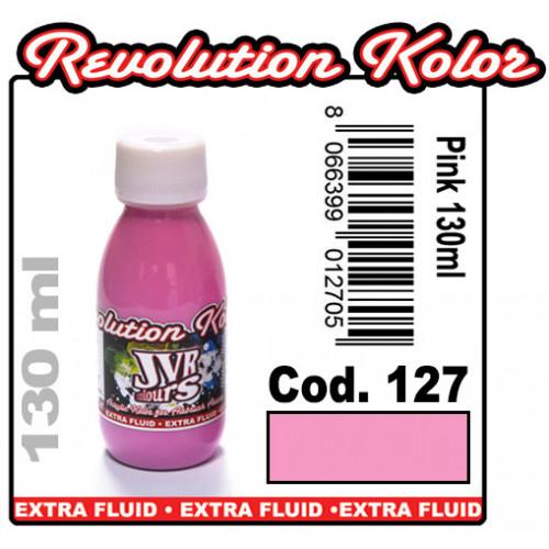 JVR Revolution Kolor, opaque pink #127, 30ml