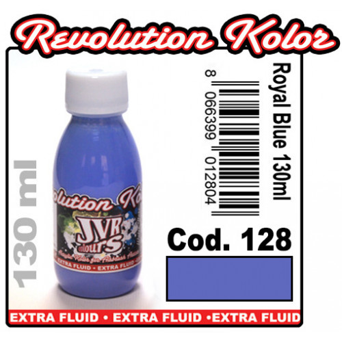 JVR Revolution Kolor, opaque royal blue #128,130ml