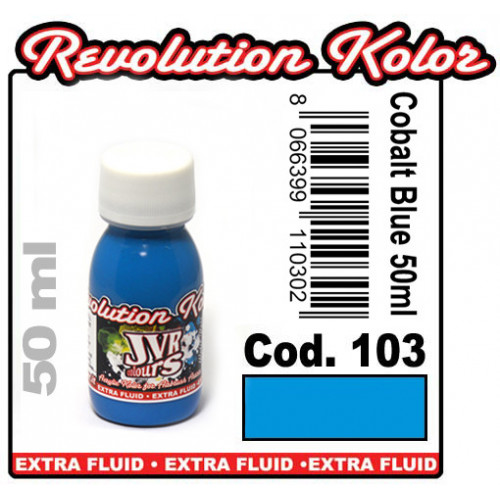 JVR Revolution Kolor, opaque cobalt blue #103, 30ml