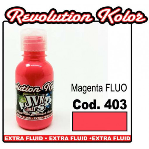 JVR Revolution Kolor, magenta FLUO #403,130ml