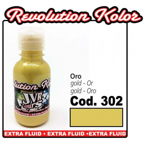 JVR Revolution Kolor, Metal Perl gold #302,130ml