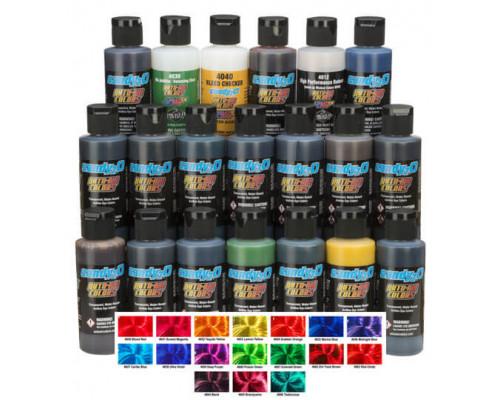Кэнди краска Createx Candy2o Complete Set набор 4681-01, 60 мл