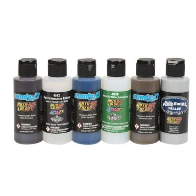Кэнди краска Createx Candy2o Hobby Set набор 4682-01, 60 мл