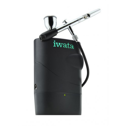 КомпрессорIwata Freestyle Air IFS 1000 на аккумуляторе