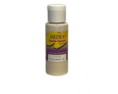 Краска текстильная Medea 311102 Tinting White, белая, 60 мл