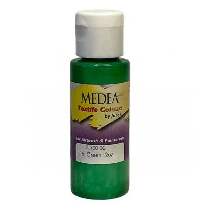 Краска текстильная Medea 316002 Green, зеленая, 60 мл