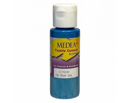 Краска текстильная Medea 317002 Blue, синяя, 60 мл