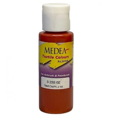 Краска текстильная Medea 323302 Red Oxide, красный оксид, 60 мл