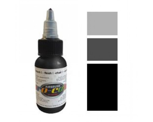 Pro-color 60024 opaque black (черная), 30мл