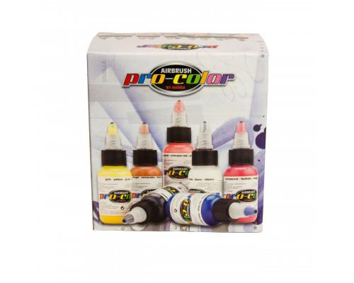 Набор флюоресцентных красок Pro-color 67030 fluorescent set
