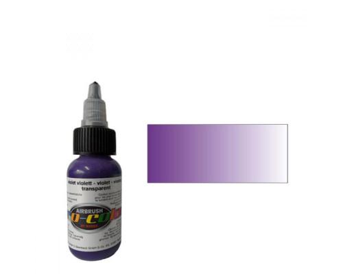 Pro-color 64074 transparent purple (фиолетовая), 30мл